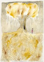 The Labyrinth- Raimlla by childrensillustrator