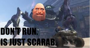 HEAVY IS SCARAB. by MrGrimlock