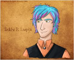 :The Elements: Teddy R Lupin by RainaAstaldo