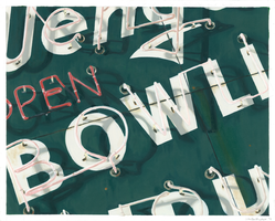 Wengers Bowling Neon Sign by jbyrd117