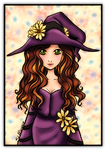 Little Flower Witch by bhudicae