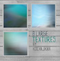8 large Textures by zakurographics