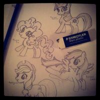 Bronies before hoenies by candiparadise