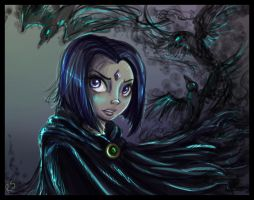 TT: Raven by sharkie19