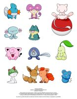 POKEMON FREEBIES by JeanFan