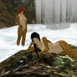 Anothers Cheetah women that not are Lisa by Toshiie1