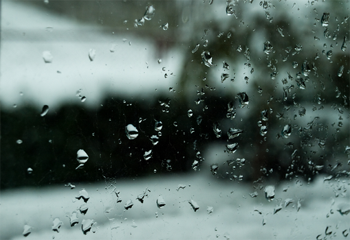 Drops on the window by Katari01