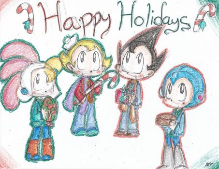 Happy Holidays 2013 by Little-Shy-Mouse