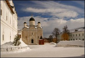 March. Monastery. by Nickdan