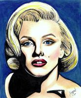 Marilyn Monroe by KdsArt