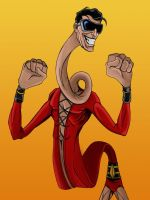 Plastic Man - Colored by TimelessUnknown