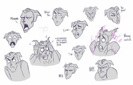 Haxus Expressions pt.2 by candyfoxrocks