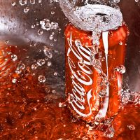 Coca Cola in the Orange by SaphoPhotographics