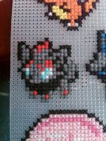 Zorua Cross Stitch by Z-Ryuuji359