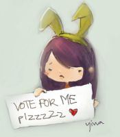 vote for me plzzz by shuqing