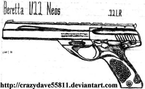 Beretta U22 Neos by CrazyDave55811