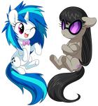 Vinyl and Octavia by albadune