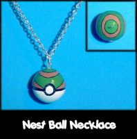 Nest Ball Necklace Charm by YellerCrakka