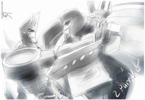 Jazz and Sideswipe 4 by Aiuke
