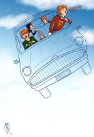 The Flying Car by blindbandit5