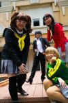 Persona 4: Yu and the Girls by generaltifa