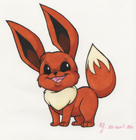 Eevee by BeyondInfinite