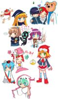 Puyo doodles by cafe-delight