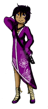 Bugeisha Violet The Will of Steel by punkies13