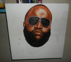 Rick Ross by PauloPainface