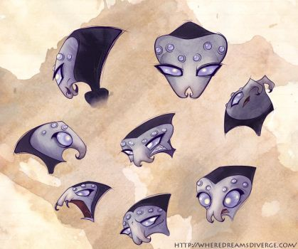 Rosalie Expression Sheet by wheredreamsdiverge