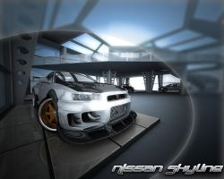 Nissan Skyline Wallpaper by stefanmarius