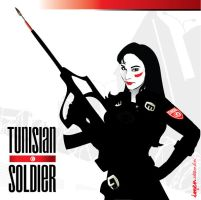 TUNISIAN soldier by mzawer