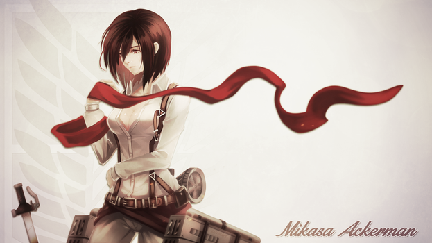 Attack on Titan - Mikasa by Welterz