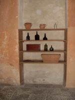 lonely shelf by LadyCafElfenlake