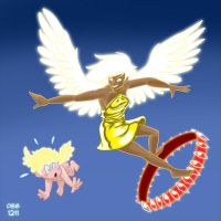 Angels: Don't surf on the Ophanim by BahalaNa