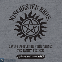 'Winchester Brothers' by thischarmingfan by Teebusters