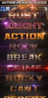 Action Filmatic Photoshop Styles - Text Effects by KoolGfx