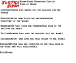 JusticeJapan Story Comic Promotion Contest! by AzabacheSilver