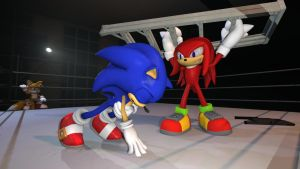 Knuckles Smash! by TheRiverKruse