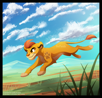 Kion - The Lion Guard by StePandy