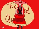 The Red Queen by GrainyFly