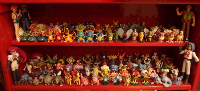 Pokemon first generation figurines collection by GwendolynWolters