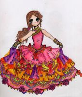 Colorful Princess by cullo66
