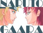 Naruto and Gaara, Face to Face by Nick-Ian