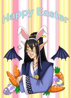 GR: Lucius - Grump Bunny Easter by TouchedVenus