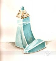 Perfume Bottle by haiderali
