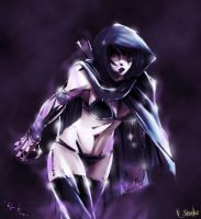 The Drow Ranger by v-p-j