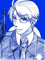 Who's in Charge? FEAT Blue Police by Rinkulover4ever50592