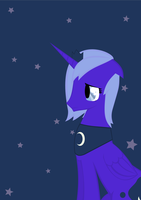 Luna Eclipsed by SoupInsanity