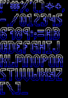 TheDraw Ansi Font 'Tranquilizer' by roy-sac